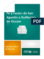 Fe y Razón de San Agustín a Guillermo de Occam