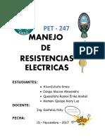 Informe Resistencia Eletrica Completo (1)