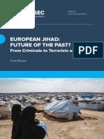 European Jihad Future of the Past Final Report