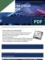 Microprocessor core 2 duo