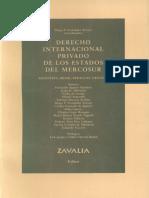 Derecho Internacional Privado de los Estados del Mercosur