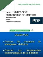 Diapositivas Bases Didácticas y Pedagógicas