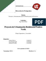 Urbanizacion Pradera Verde Informe 3 Entrega