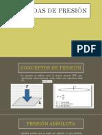 Medidas de Presión