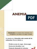 Histología anemia