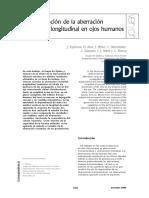 Determinación de la aberración cromática longitudinal en ojos humanos.pdf