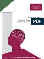 Barreras de Entrada Concentracion y Competencia en El Mercado de Las Afp
