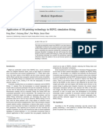 Application of 3d Printing Technology in Rgpcl Simulation Fitting