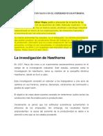 APORTES DE ELTON MAYO CON EL EXPERIMENTO HAWTHORNE.docx