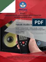 Modul Instalasi Komersial Komponen Audio Video