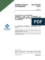 Ntc Iso Iec17011