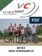 Vereinsheft Veloclub Leibstadt 2019/2