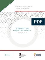 PRO Tuberculosis Farmacorresistente