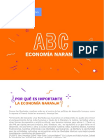 ABC DE  LA  ECONOMIA NARANJA