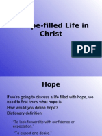 A Hope-Filled Life in Christ