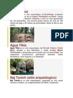 sitios arqueologicos 3