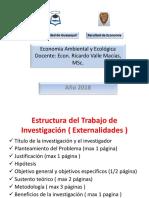 Como elaborar la tarea de investigación de económica ambiental