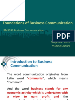 Lecture 1 - Foundation of Business Communication.pptx