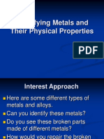 Amta5 1 Identifying Metals and Their Physical Properties
