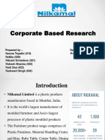nilkamal as HR perspective