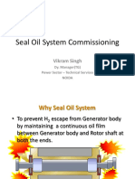 Seal Oil System Commissioning