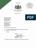 Folmer Resignation Letter