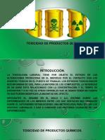 Toxicidad de PQ