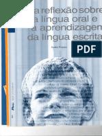 Uma reflexão sobre a língua oral e a aprendizagem da língua escrita