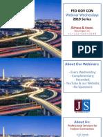 FED GOV CON - SDVOSB - Contracting at VA vs Other Agencies