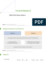 Slides VitaminA,DCalciumHomeostasis Biochemistry