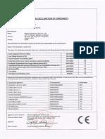 Certificado Conformidad CE m365