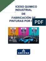 Informe Del Proceso Quimico Industrial Por Item