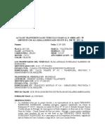 ACTA DE TRANFERENCIA DE VEHICULO USADO .doc