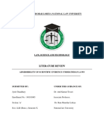 REVIEW of LITERATURE Researcher Has Gone Through a Considerable Number of Books and Has Reviewed Articles on the Topic of Research