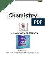 D & F-Block Elements