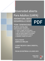 Trabajo Final Ser Humano y Desarrollo Sosteniblle. 2019