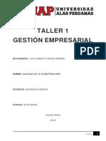 Taller 1 Gestión Empresarial