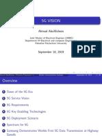 5G vision