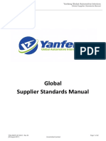 YANFENG Supplier Standards Manual