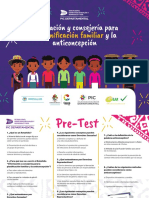 Orientación y Consejería Para La Planificación Familiar y La Anticoncepción Rotafolio Cauca Colombia
