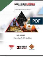 Sap Concur Profile Updating Manual