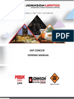Sap Concur Claimer Manual - Rmc