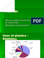 Plastic stastistics