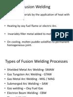 Fusion Welding Processes2011