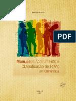 Manual Acolhimento Classificacao Risco Obstetricia 2017