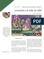 La Economía o La Vida