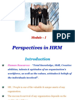 HRM Module - 1.ppt