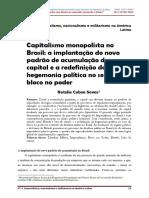 Capitalismo Monopolista No Brasil_Natalia Cabau Seves