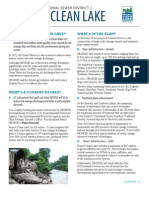 Project Clean Lake | Fact sheet