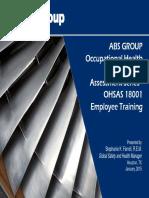 OSHA 18001 Version ABS